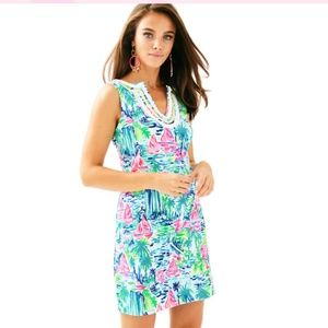 Lilly Pulitzer Harper Shift Dress Salt in the Air